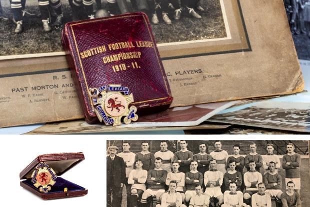 Century old Rangers medal expected to sell for £3K at auction