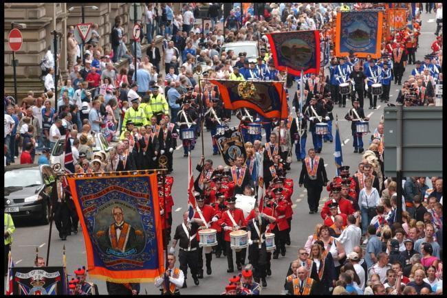 Orange Parade Glasgow