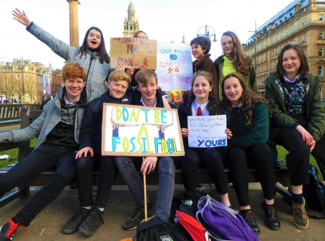 Councils urged not to punish pupils for climate strike