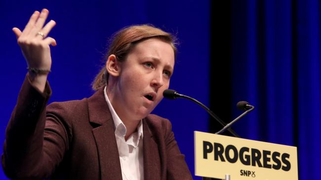 Mhairi Black slams 'grown men absolutely triggered by the word riddy'