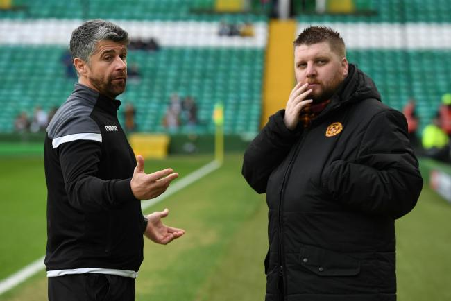 Motherwell CEO Alan Burrows says Motherwell will keep pushing themselves now they have paid off their external debt.