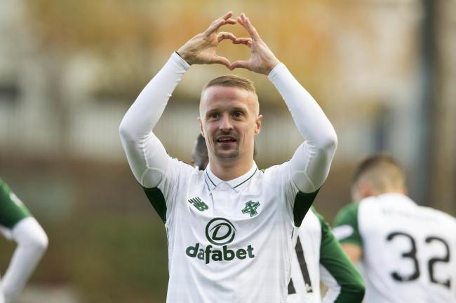 Leigh Griffiths is set to embark on a tailored fitness programme after being out of action for four months
