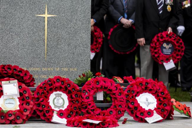 'Sickening': Campaigners investigate wreaths and crosses taken from war memorial