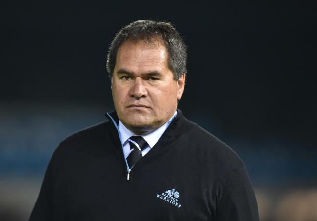 Glasgow Warriors head coach Dave Rennie has made four changes to his team that face Cardiff Blues. Pic: Simon Galloway/PA Wire..