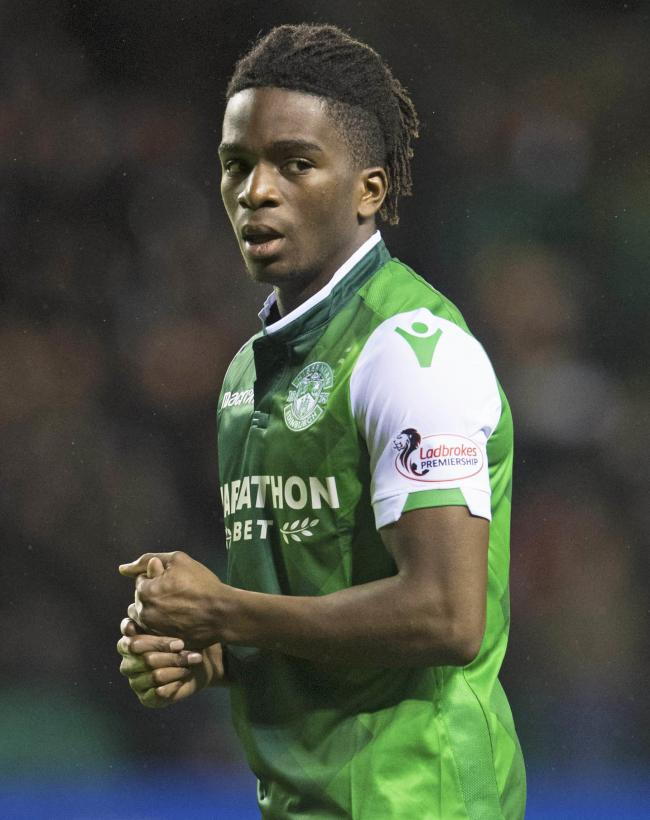 Stephane Omeonga has returned to Hibernian on loan until the end of the season