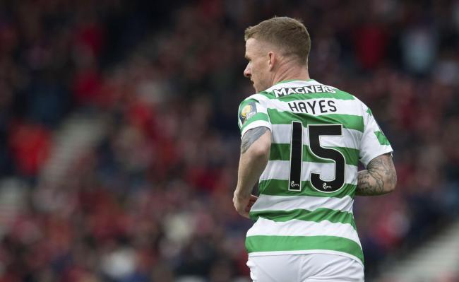 Stoke and Swansea are reportedly interested in signing Celtic's Jonny Hayes PHOTO: PA
