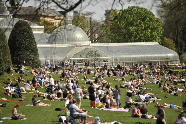 Public urged to report 'hostile drinkers' in Botanic Gardens