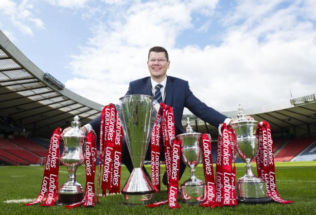 SPFL chief executive Neil Doncaster.