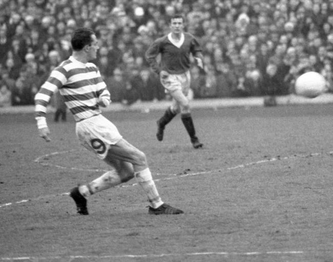 Lisbon Lion Stevie Chalmers died yesterday