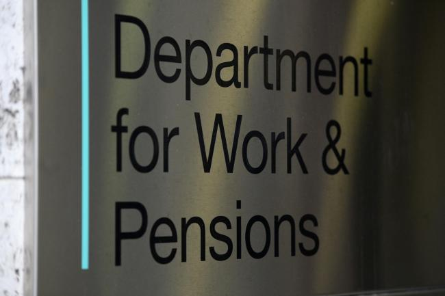 EMBARGOED TO 0001 WEDNESDAY MAY 01..File photo dated 11/01/18 of the signage for the Department of Work & Pensions. Fresh controversy has flared over the Government's flagship Universal Credit benefits system after a report said claimants are rout