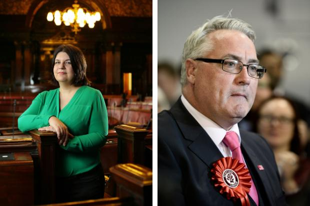 Susan Aitken and Frank McAveety