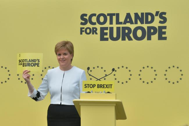Scotland 'cannot trust Westminster', says Nicola Sturgeon, as independence referendum bill launched
