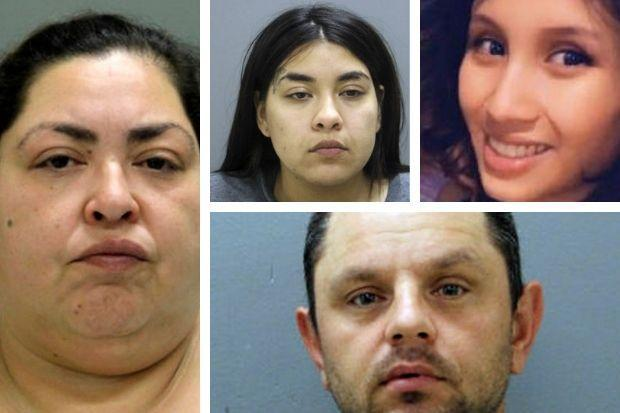 Victim Marlen Ochoa-Lopez (top right)