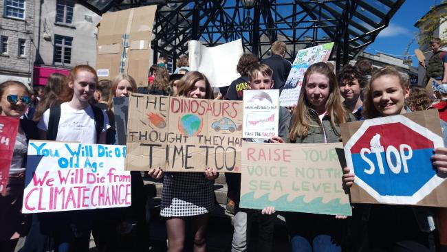 The UK Student Climate network are calling for 'biggest climate mobilisation in history'