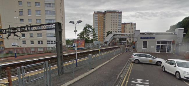 The 'assaul't took place near to Dalmuir train station