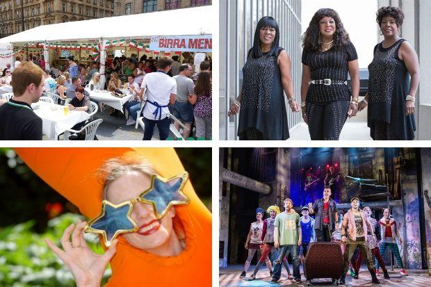 Sagra Italiana, Martha Reeves & The Vandellas, West End Festival and Green Day's American Idiot