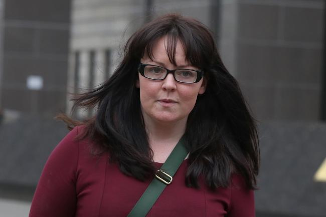 Former SNP MP Natalie McGarry  Photo: PA