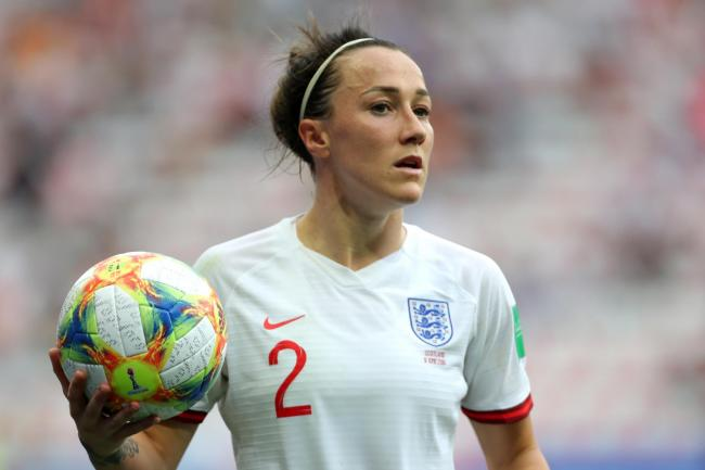 Lucy Bronze was part of the England side beaten by Japan in 2015